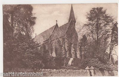 Malvern, Holy Trinity Church, Tilley Postcard, B472