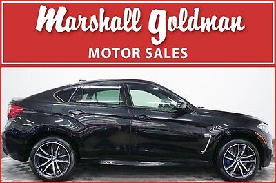 2017 BMW X6  2017 BMW X6 M Black Sapphire with Black navi driver assist only 2200 miles