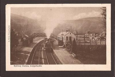Craigellachie. Great North of Scotland Railway Station(closed 1968). 1904.