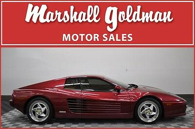 1995 Ferrari Other  1995 FERRARI 512M  9000 MILES  5 SPEED, #25 OF 75 PRODUCED, SERVICE PERFORMED