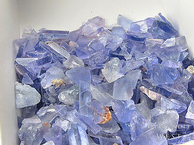 1/2 lb Box of Fluorite Chips, New Mexico