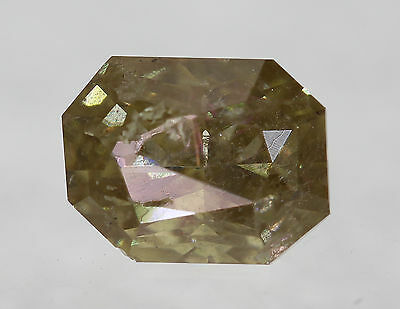 Cert 0.92 Fancy Intense Brown Radiant Enhanced Natural Diamond 6.08x4.7mm VG VG