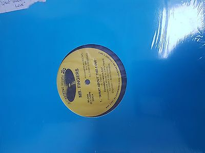 Mr. Fingers - What about this love - Alleviated Records  - 12