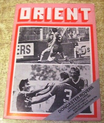 1982/83 DIVISION THREE - ORIENT v DONCASTER ROVERS - 2 OCTOBER 1982