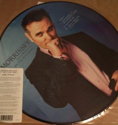 """Morrissey / The Smiths - I Just Want To See The Boy Happy Uk 12"""" Single Pic Disc"""