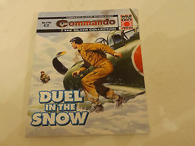 Commando War Comic Number 4794!!,2015 Issue,super For Age,02 Year Old,very Rare.