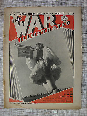 The War Illustrated # 64 (Koritza, Greece, RAF Hawker Hurricane, Haile Selassie)