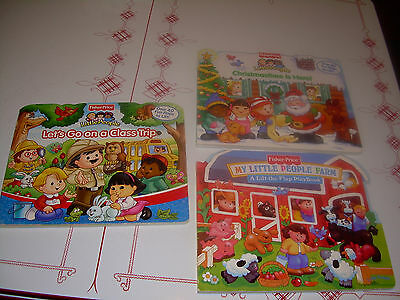 Lot Children's Books Fisher Price Lift The Flap Reader's Digest