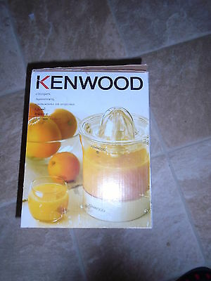KENWOOD JE 280 CITRUS PRESS - NEW and BOXED