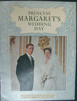 PRINCESS MARGARET'S WEDDING DAY- Pictorial Memento PB Book