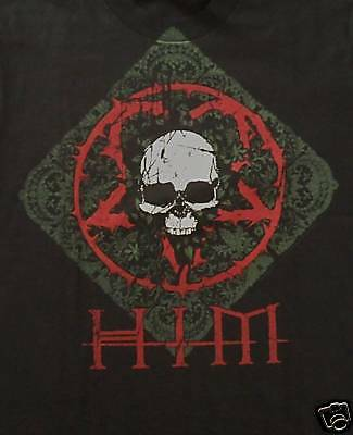 HIM H.I.M.-NEW YOUTH CHILD Skull T Shirt- Large SALE  FREE SHIPPING TO U.S.!