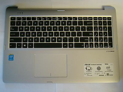 Asus R554L R554LA US Keyboard Cover Palmrest Touchpad Mouse 13NB0591AP04011
