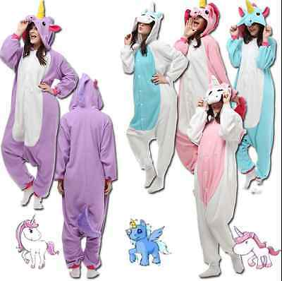 Unisex Animal Onesie Unicorn Tenma Kigurumi Pajamas Cosplay Costume Sleepwear*&*