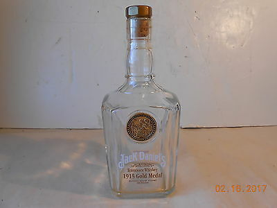Jack Daniels 1915 Gold Medal London Tennessee Whiskey Bottle 90 Proof