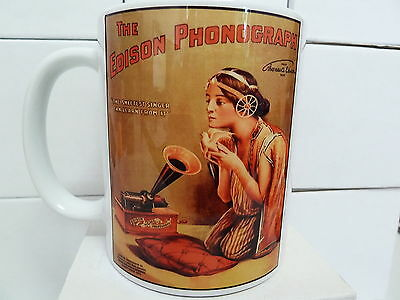 300ml COFFEE MUG, THE EDISON PHONOGRAPH