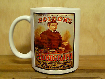 300ml COFFEE MUG, EDISON'S PHONOGRAPH