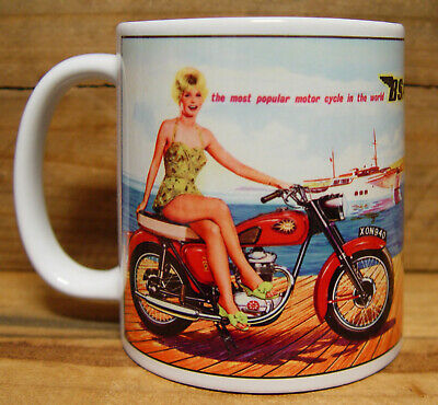 300ml COFFEE MUG, BSA MOTORCYCLES - THE MOST POPULAR....