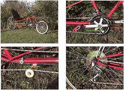 RECUMBENT BICYCLE PLANS ON CD Starting Point for Human Powered Glider Sailplane
