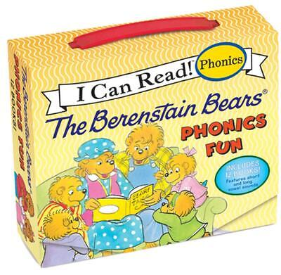 The Berenstain Bears Phonics Fun: Includes 12 Mini-Books Featuring Short and Lon