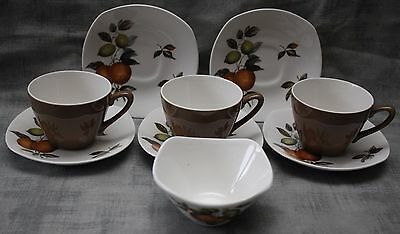 Midwinter 1960's - Oranges & Lemons -  Part Coffee Set