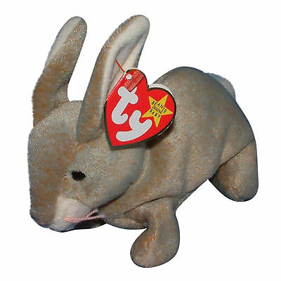 Ty Beanie Baby Nibbly - MWMT (Bunny 1998) Easter