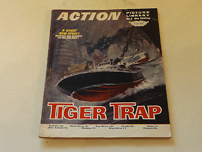 ACTION PICTURE LIBRARY,NO 03,1969 ISSUE,GOOD FOR AGE,48 yrs old,V RARE COMIC.
