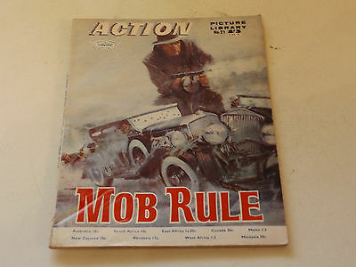 ACTION PICTURE LIBRARY,NO 21,1970 ISSUE,GOOD FOR AGE,47 yrs old,V RARE COMIC.