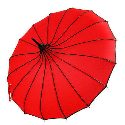 Pagoda Parasol Vintage Sun UV Rain Umbrella For Bridal Wedding Party