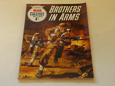 WAR PICTURE LIBRARY NO 260!,dated 1964!,GOOD for age,great 53!YEAR OLD issue.