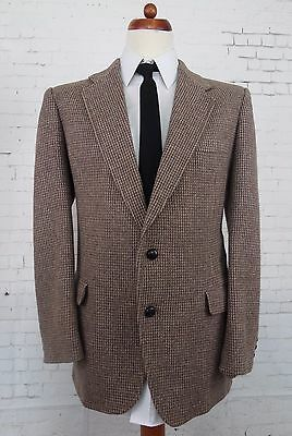 Vintage Brown Multi Tone 2 Button Tweed Style Jacket -42- BQ85