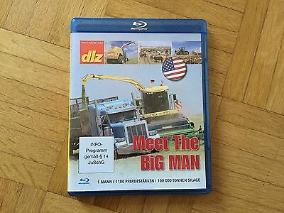 Landtechnik Blu-ray DVD MEET THE BIG MAN # Krone BiG X 1100 in den USA + NEU