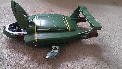 "Thunderbirds ""Supersize Thunderbird 2 with Thunderbird 4"" Action Figure"