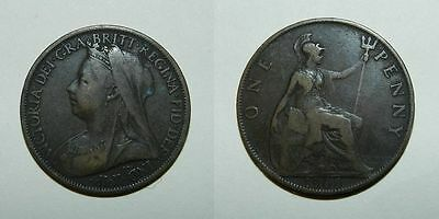 Great Britain : Queen Victoria Penny 1900
