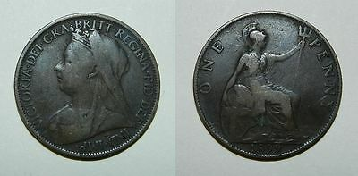 Great Britain : Queen Victoria Penny 1899