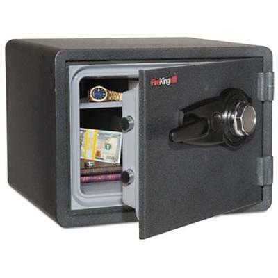 Fireking International KY09131GRCL One Hour Fire And Water Safe With Combo Lock,