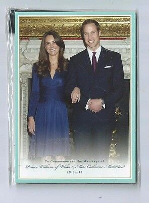 Postcard Royal Wedding 5 Cards Prince William Catherine Middleton 2011 Unopened