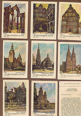 GERMANY: Collection of 158 Scarce German OLLESCHAU Cards (1931)