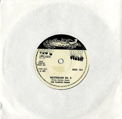 "Westbound No. 9 Flaming Ember 7"" vinyl single record UK HWX101 HOT WAX 1969"
