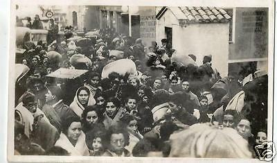 FLB Spanish Civil War Postcard, Refugees in France after the Fall of Catalonia