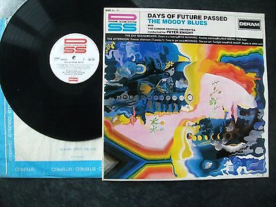 "The Moody Blues""days Of Future Passed"".1967 Unboxed Deram+1W/2W Matrix.near Mint"