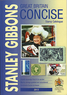 2013 GREAT BRITAIN CONCISE STAMP CATALOGUE 28th EDITION - STANLEY GIBBONS