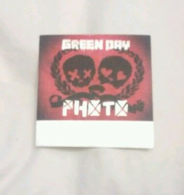 Green Day Tour Backstage Pass OTTO Concert