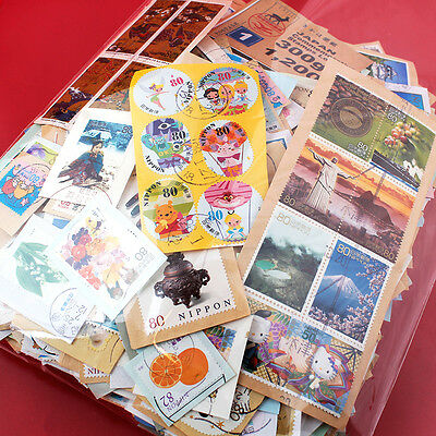 JAPAN Kiloware Commemorative On Paper Used Stamps 300g including 2014-2015 No.1