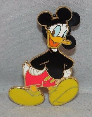Real Mickey Series Donald Duck Dressed As Mickey Mouse Disney Pin