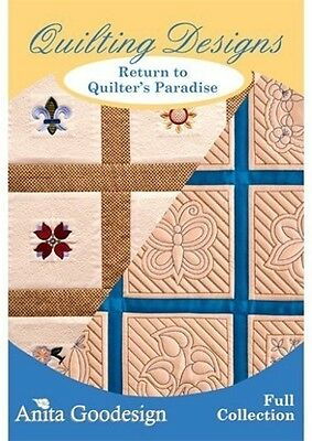Return to Quilters Paradise Anita Goodesign Embroidery Cd
