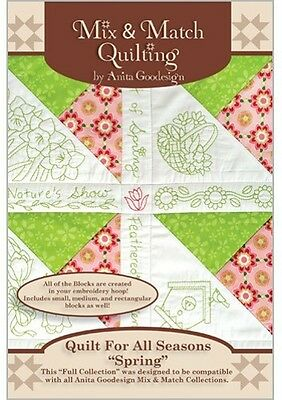 Quilt for all Seasons Spring Anita Goodesign embroidery Designs