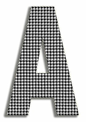 Stupell Industries Oversized Houndstooth Letter Hanging Initial