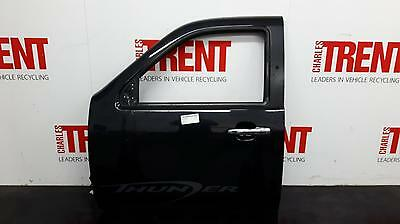 2009 FORD RANGER 4 Door Pickup Black N/S Passengers Left Front Door