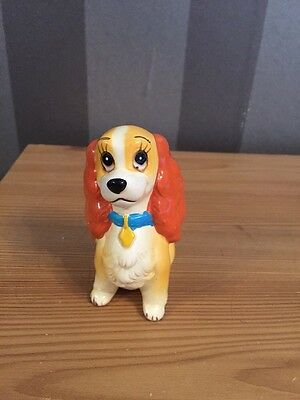 Lady And The Tramp, Porcelain Figurine LADY, Disney Japan