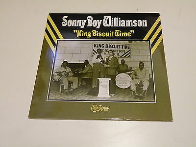 Sonny Boy Williamson - King Biscuit Time - Lp Arhoolie Records Made In U.s.a. -
